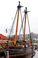 Ship in Mystic Seaport