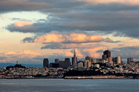 San Francisco from across the Bay, CA
