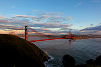 Golden Gate Bridge from Marin Headlands, CA