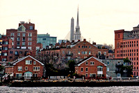 Boston, (Old North Church Spire), Boston, MA