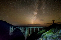 Bixby Bridge Stars - Big Sur, CA